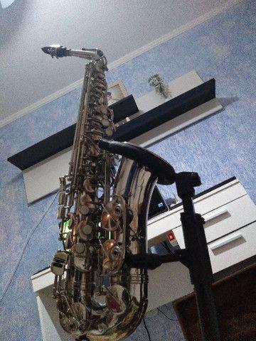 Sax alto weril master lindo original de fábrica  - Foto 2