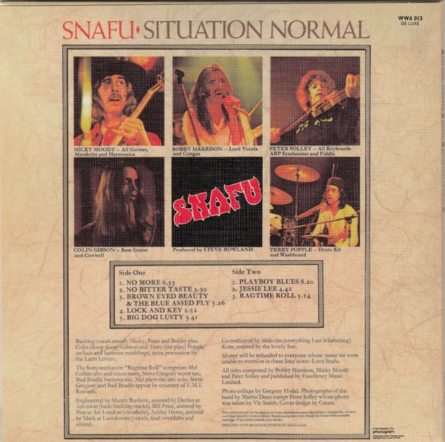 Snafu - Situation Normal - Foto 3