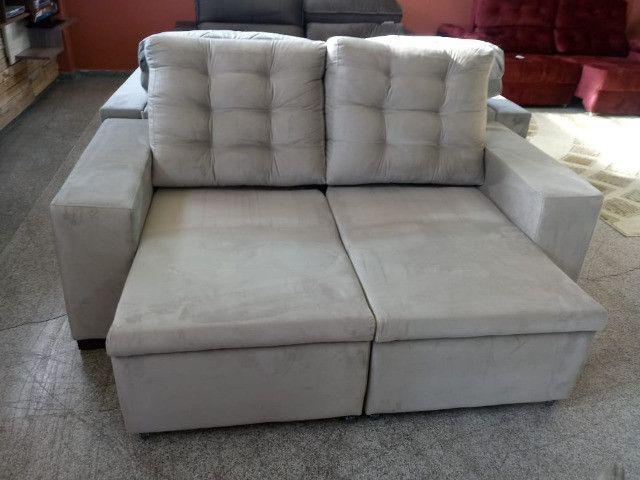 Sofa look retratil e reclinavel.! - Foto 5