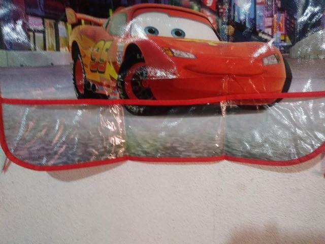 Avental Infantil Criança Disney Frozen Menina e Disney Pixar Carros Menino  - Foto 4