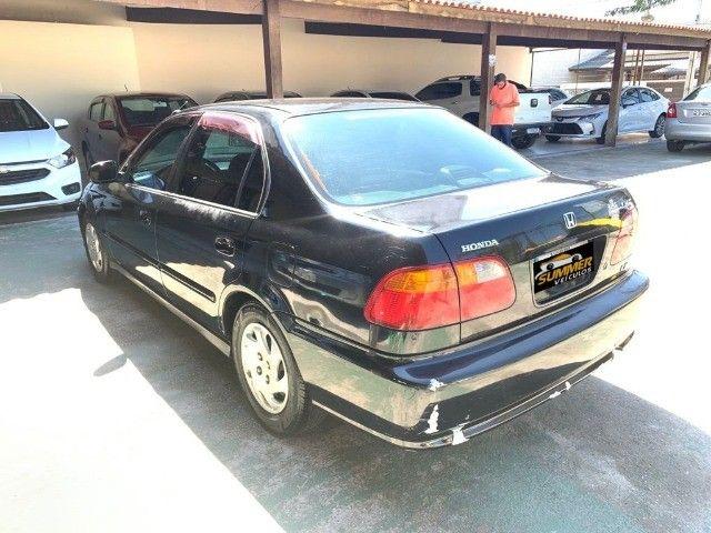 Honda Civic Sedan LX 1.6 Flex AT *Gnv* - Foto 4