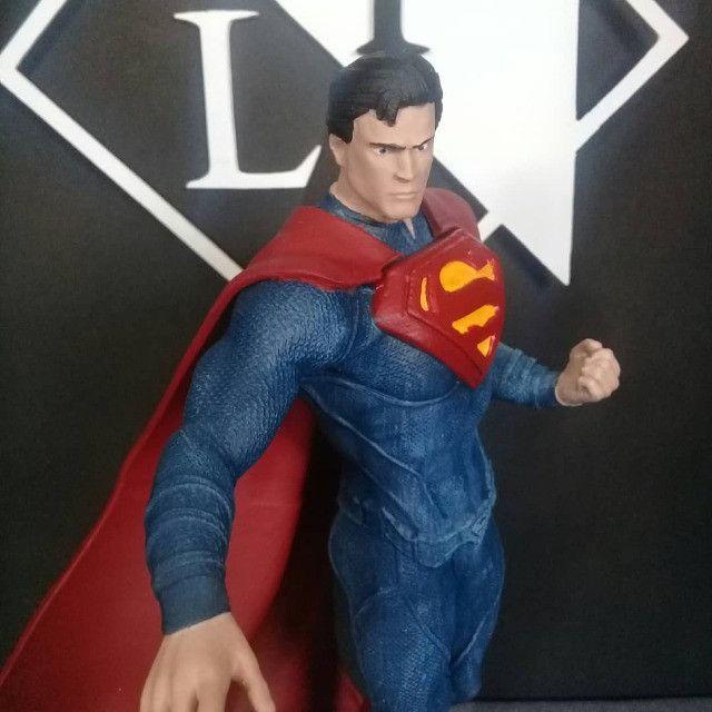 Boneco Colecionável Superman Liga Da Justiça - Foto 2