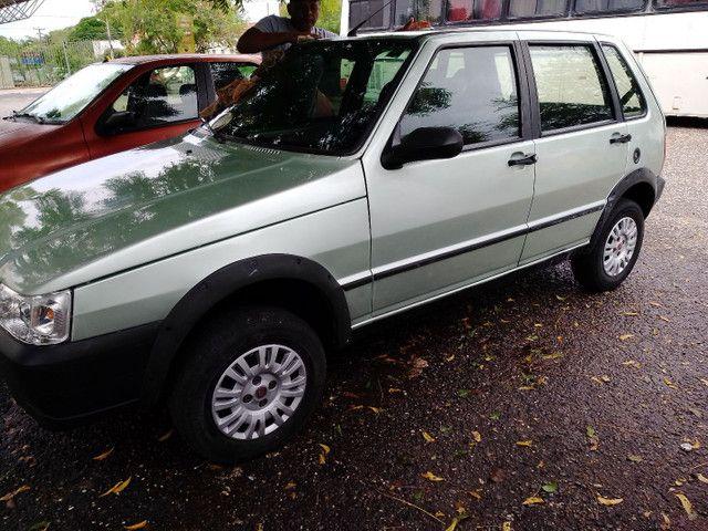 Fiat Uno Miller 08/09...com AR 17.500! - Foto 6