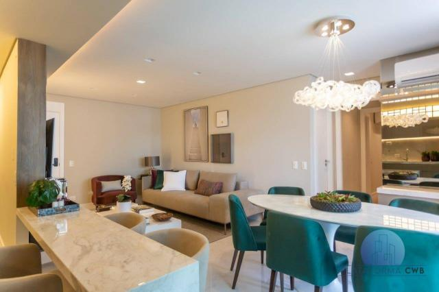 Apartamento com 2 dormitórios à venda por R$ 780.700,00 - Mercês - Curitiba/PR - Foto 6