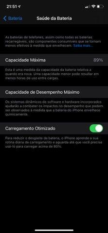 iPhone 11 Red 128gb em ótimo estado, saude da bateria 89% - Foto 6
