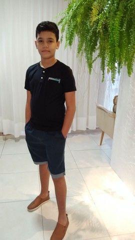 Camisas juvenil tamanhos 10,12 e 14 - Foto 2
