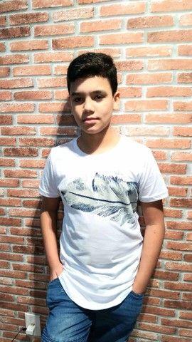 Camisas juvenil tamanhos 10,12 e 14 - Foto 5