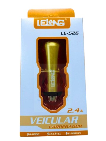 Carregador de Celular Veicular Carga Rápida 2.4a 2 Portas USB - Foto 2