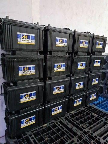 Baterias semi novas de 100ah muito novas.  - Foto 4
