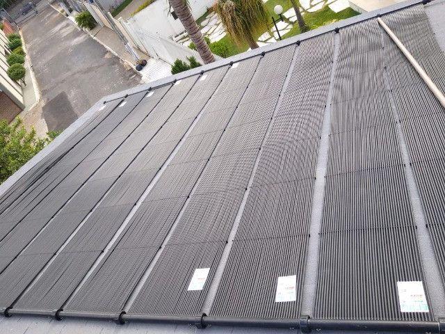 Aquecedor coletor solar para piscina
