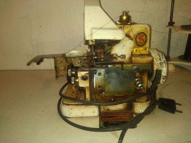 Vendo máquina overloque semi industrial - Foto 3