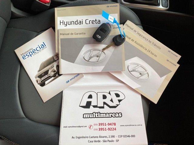 hyundai creta  1.6 attitude flex  2018 preta automatica - Foto 14