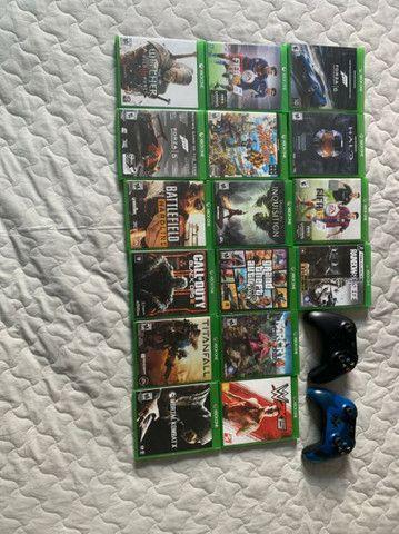 Xbox One (usado/ perfeito estado) + 13 jogos  - Foto 4