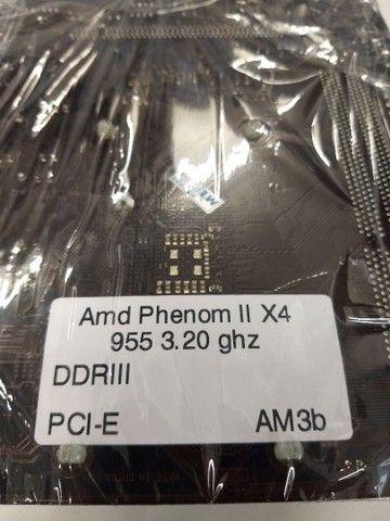 Placa Mãe Asrock 960GM-VGS3 + Processador Phenom X4 - Foto 6