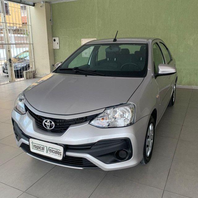 Toyota Etios Automático X 1.5 2018 Completo!!! - Foto 4