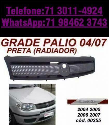 Palio/Grade/Preta Radiador 2004/2005/2006/2007 para Fiat novo original