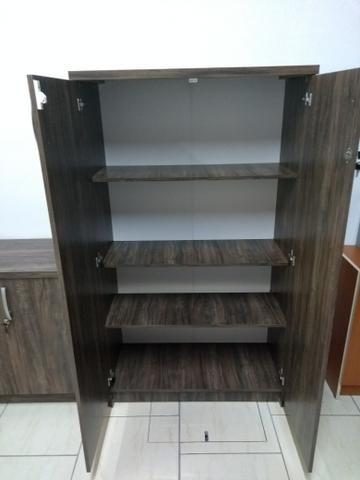 Conjunto móveis escritório Novos revenda de fábrica - Foto 2