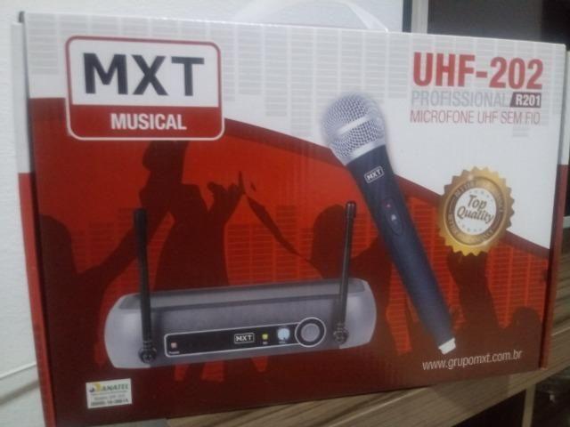 Microfone mxt original e profissional 202