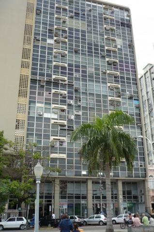 Sala Comercial no Centro (em frente a Praça São Salvador) - Ed. Cidade de Campos