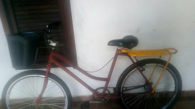 Bicicleta com peças Novíssimas