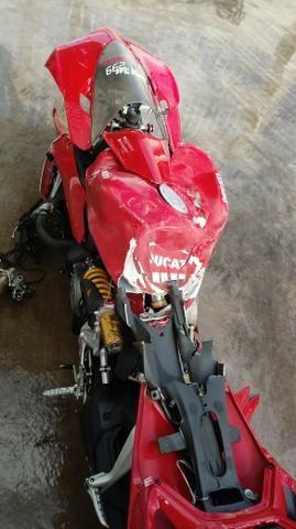Moto P/ Retirada De Peças / Sucata Ducati Panigali 1199 Ano 2015 - Foto 4