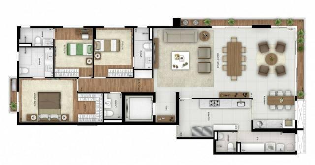 Opus Araguaya apartamento 3 Suítes no Marista - desconto imperdível - Foto 16