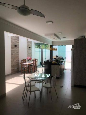 Casa de alto padrão com 3 dormitórios à venda, 198 m² por R$ 600.000 - Residencial Atlânti - Foto 4