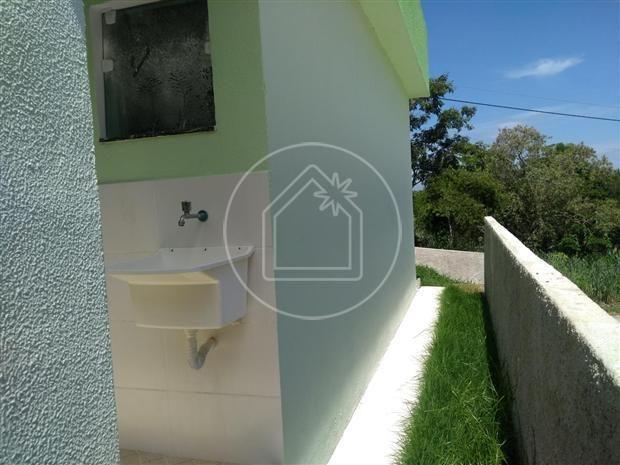 Casa de condomínio à venda com 1 dormitórios em São josé do imbassaí, Maricá cod:863638 - Foto 14