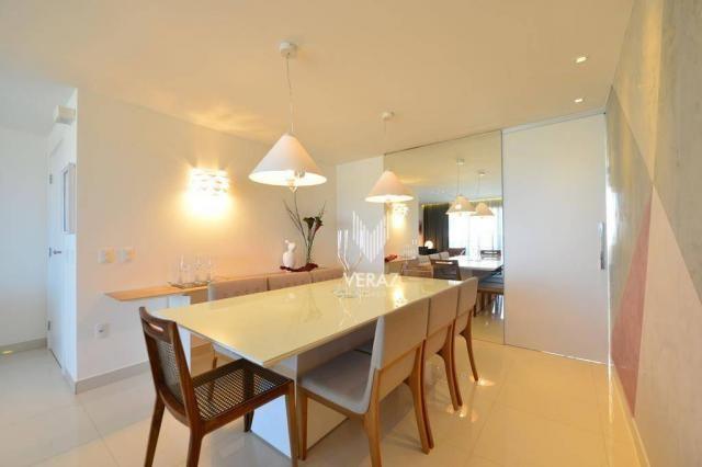 Apartamento com 4 dormitórios à venda, 152 m² por r$ 1.400.000,00 - varjota - fortaleza/ce - Foto 4
