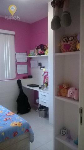 Excelente apartamento 3 quartos no villaggio manguinhos em morada de laranjeiras - Foto 13