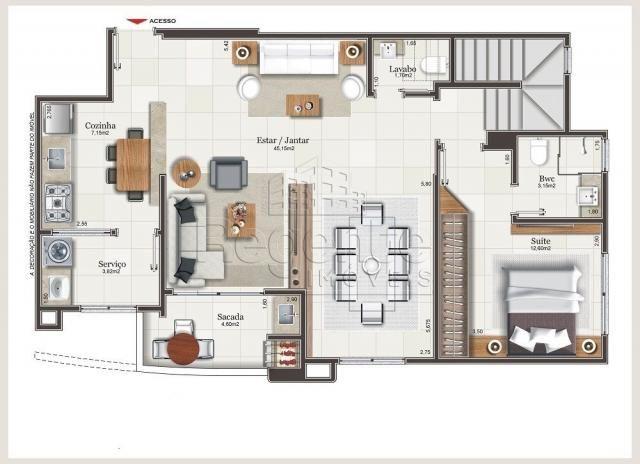 Apartamento à venda com 3 dormitórios em Balneário, Florianópolis cod:79158 - Foto 6