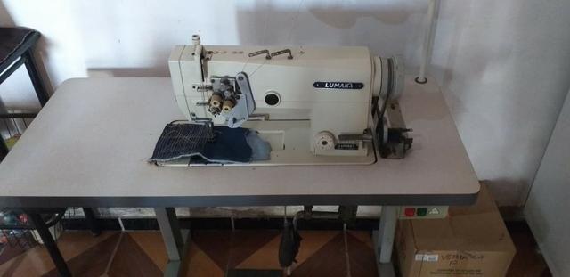 Máquina 2 agulhas com desligamento - Foto 3
