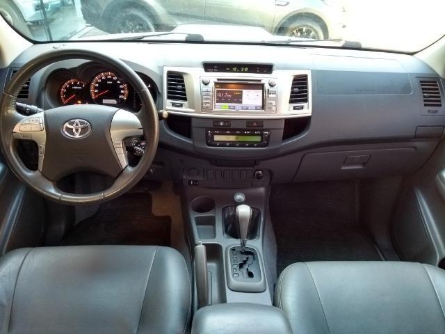 Hilux SRV 3.0 Aut Cab Dupla 4x4 Diesel 2013 - Foto 9