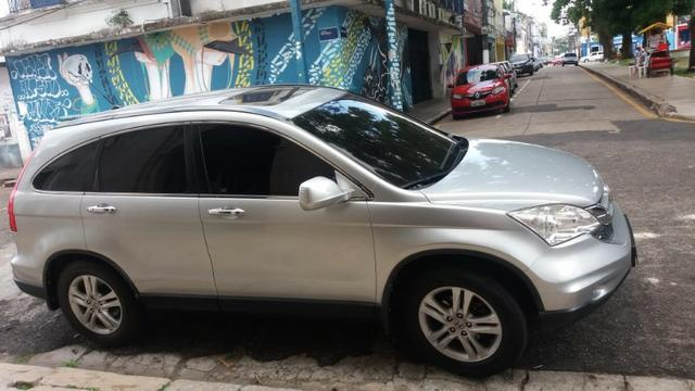 Honda-CRV-EXL/2010, 4 X 4, Teto Solar, Automático, Top