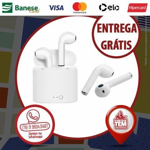 Fone De Ouvido Bluetooth Airpod Tws I7s Mini