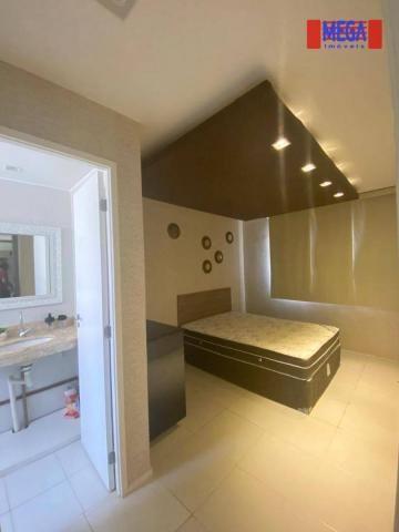 Apartamento com 2 dormitórios para alugar, 72 m² por R$ 2.700,00/mês - Porto das Dunas - A - Foto 14