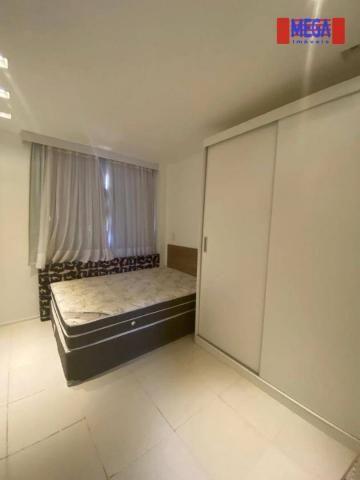 Apartamento com 2 dormitórios para alugar, 72 m² por R$ 2.700,00/mês - Porto das Dunas - A - Foto 12