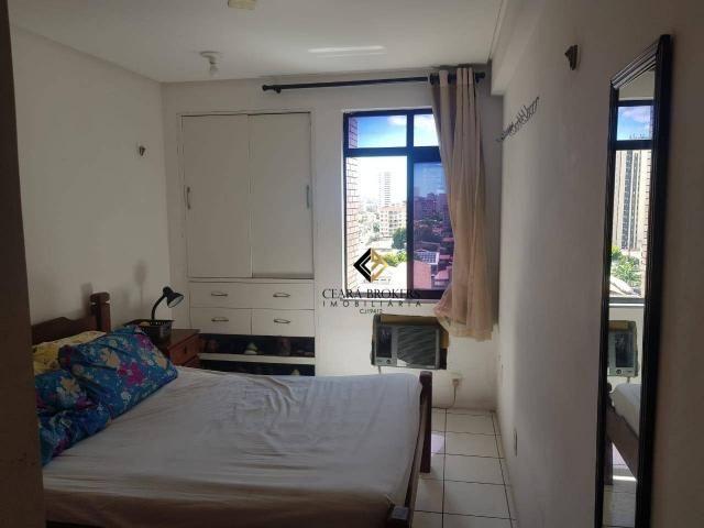 Apartamento com 3 dormitórios à venda, 57 m² por R$ 330.000 - Fátima - Fortaleza/CE - Foto 4