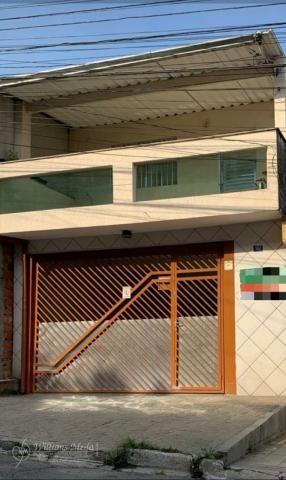 Sobrado com 3 dormitórios à venda, 170 m² por R$480.000 - Parque Continental II - Guarulho