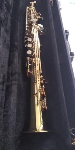Sax soprano Eagle sp 502 novíssimo lindo - Foto 2