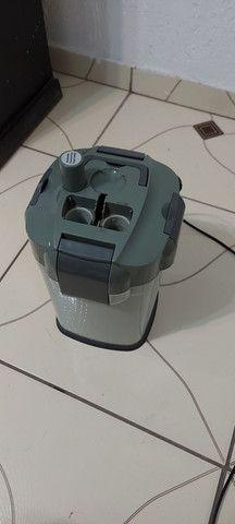 Aquario 100 litros com móvel e filtro canister - Foto 2