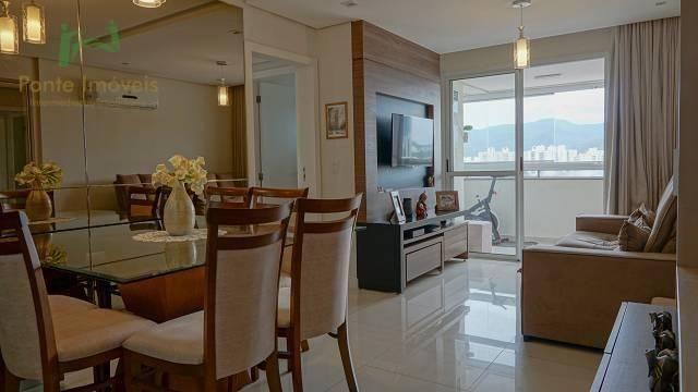 Apartamento com 2 dormitórios à venda, 75 m² por R$ 580.000,00 - Itacorubi - Florianópolis - Foto 2