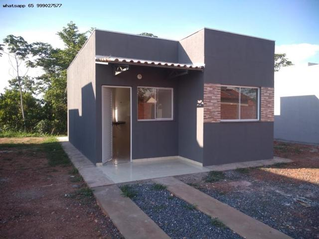Casa para Venda em Várzea Grande, São Benedito, 2 dormitórios, 1 banheiro, 2 vagas - Foto 13