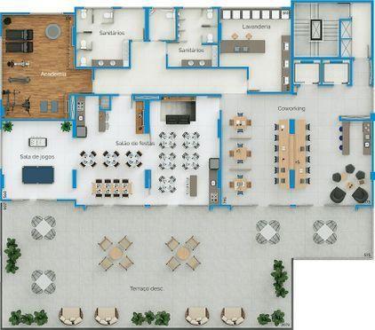 Apartamento Studio - Investimento Centro de Criciúma - Foto 18