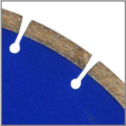Disco diamantado 350 mm TNT blue asfalto/concreto - Foto 2