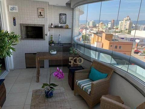 Apartamento com 3 dormitórios à venda, 120 m² por R$ 905.000,00 - Balneário - Florianópoli