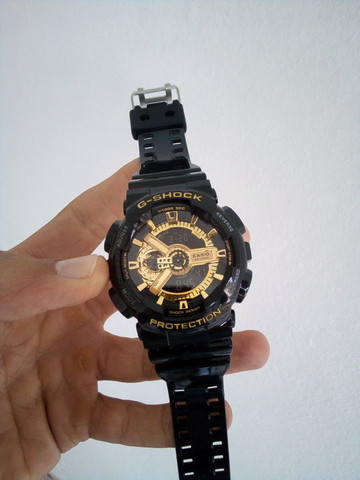 Relógio Casio G-Shock GA-110 A prova d'água