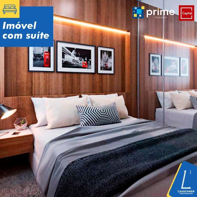 DF- Venda de apartamento 2 qts+ varanda gourmet- Prime Mosaico - Foto 3