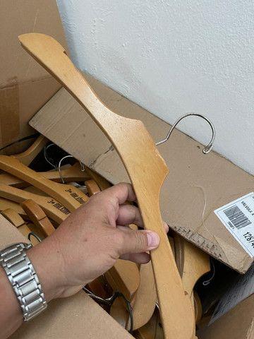 Cabide de madeira excelente madeira estilo - Foto 3