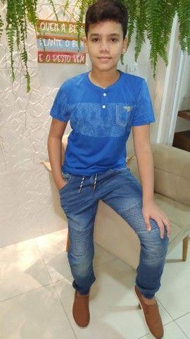 Camisas juvenil tamanhos 10,12 e 14